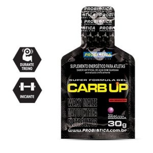 Probiótica - CARB UP GEL - SUPER FÓRMULA