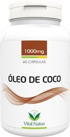 ÓLEO DE COCO 1g c/ 60 cápsulas - Vital Natus
