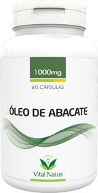 ÓLEO DE ABACATE 1g c/ 60 cápsulas - Vital Natus
