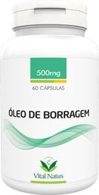 ÓLEO DE BORRAGEM 500mg c/ 60 cápsula - Vital Natus