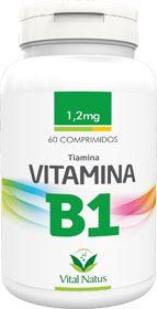 VITAMINA B1 (Tiamina) 1,2mg c/ 60 comprimidos - Vital Natus