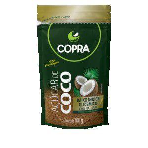 AÇÚCAR DE COCO 100g - Stand Up Pouch - Copra