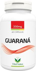 GUARANÁ 350mg c/ 60 cápsulas