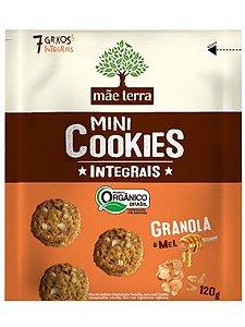Mini Cookie Orgânico Integral Granola e Mel - 120g