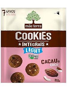 Mini Cookie Orgânico Integral Light Cacau e Coco - 120g