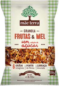 Granola Caseira Frutas e Mel - 250g