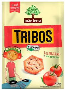 Snack Tribos Tomate e Manjericão - 50g - Mãe Terra