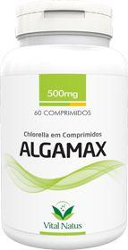 ALGAMAX CHLORELLA 500mg c/ 60 Comprimidos - Vital Natus