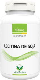 LECITINA DE SOJA 500mg c/ 60 cápsulas - Vital Natus