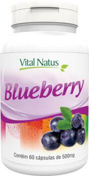 BLUEBERRY 500mg c/ 60 cápsulas - Vital Natus