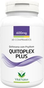 Quitoplex Plus 600mg c/ 60 cápsulas - Vital Natus