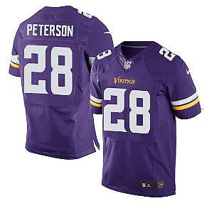 Camisa Minnesota Vikings Adrian PETERSON #28 - Elite