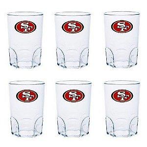 COMBO 6 MINI-COPO SHOT NFL  - SAN FRANCISCO 49ERS 60ML