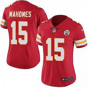Jersey  Camisa Kansas City Chiefs Feminina - Patrick MAHOMES #15