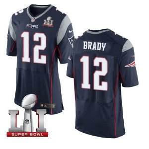 Jersey  Camisa New England Patriots Tom BRADY #12 Super Bowl LI
