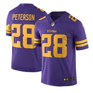 Jersey  Camisa Minnesota Vikings Adrian PETERSON #28 - Color Rush
