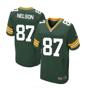 Jersey  Camisa Green Bay Packers Jordy NELSON  #87 Elite