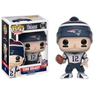 Boneco Funko Pop NFL Tom Brady Wave 3