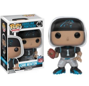 Boneco Funko Pop NFL Cam Newton Wave 3