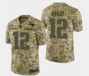 Jersey  Camisa New England Patriots - Tom BRADY #12 Salute to Service