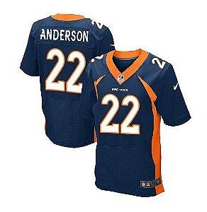 Jersey  Camisa Denver Broncos - C. J. ANDERSON #22 Elite