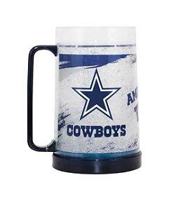 Caneca de  Chopp  e Cerveja NFL - Dallas Cowboys