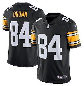 5b9877867 Camisa Pittsburgh Steelers Antonio BROWN  84 2018