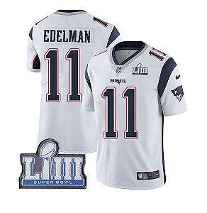 78d6d33cd Camisa New England Patriots Julian EDELMAN  11 - MVP Super Bowl LIII