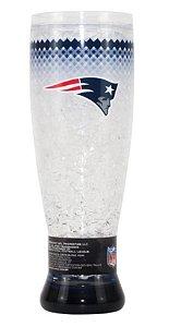 Copo Termico Chopp Ou Cerveja New England Patriots 450ml Nfl