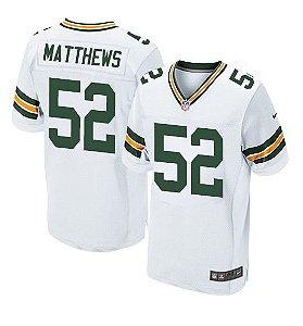Jersey  Camisa Green Bay Clay MATTHEWS #52 Elite