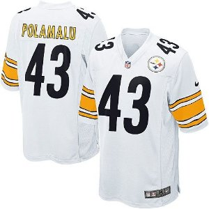 Jersey  Camisa Pittsburgh Steelers Troy POLAMALU #43 Game
