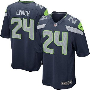 Jersey  Camisa Seattle Seahawks Lynch #24 Game