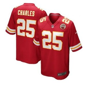 Jersey  Camisa Kansas City Chiefs CHARLES #25 Game