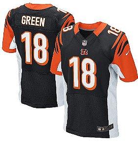 Jersey  Camisa Cincinnati Bengals - A. J. GREEN #18 Elite