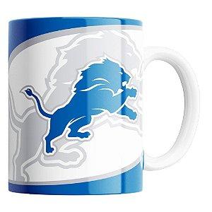 CANECA NFL DETROIT LIONS DE PORCELANA 325ML