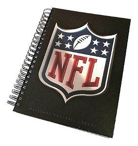 Caderno Logo NFL 3D