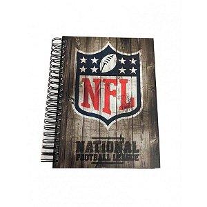 Caderno Wood NFL 3D