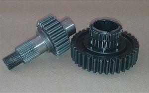 Kit de Redução X Crawler® 2.65 com 27 estrias para Samurai Helicoidal (1996-1999) e Jimny até 2003