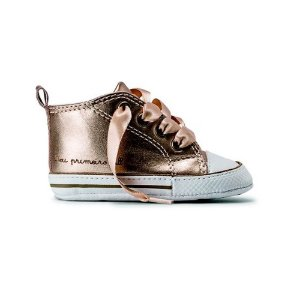Tênis Converse Chuck Taylor My First All Star Ouro