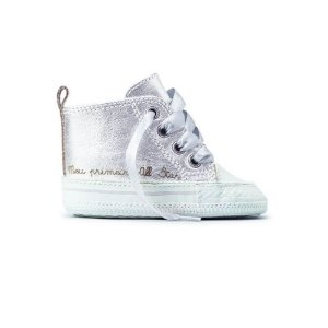 Tênis Converse Chuck Taylor My First All Star Prata