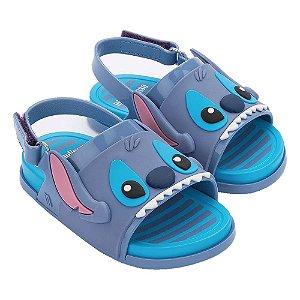 Sandália Mini Melissa Beach Slide Sandal + Stitch BB