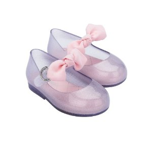 Sapatilha Mini Melissa Sweet Love Princess Bow BB