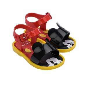 Sandália Mini Melissa Mar Sandal + Mickey And Friends
