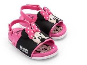 Sandália Mini Melissa Beach Slide Sandal + Mickey And Friends