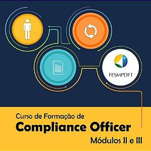 Curso de Formação de Compliance Officer - Módulos II e III
