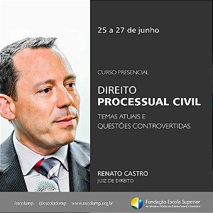 Curso de  Direito Processual Civil -- Temas Atuais e Questões Controvertidas