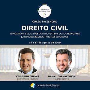 Curso de Direito Civil:  temas atuais e questões controvertidas de acordo com  jurisprudência dos Tribunais Superiores