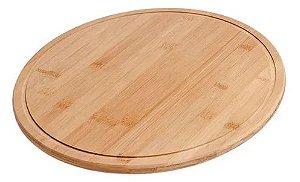 Tábua para Pizza em Bambu 35 cm - Supreme