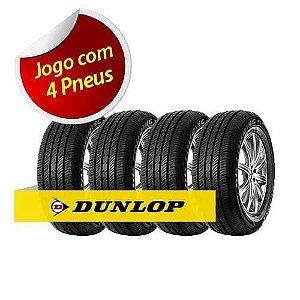 Jogo de Pneu Dunlop Aro 13 175/70 R13 82t Sp Touring T1 - 4 peças