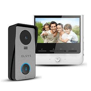 """Video Porteiro Elsys ESL-VPC7 Com Terminal Externo e Monitor Interno Tela 7"""""""